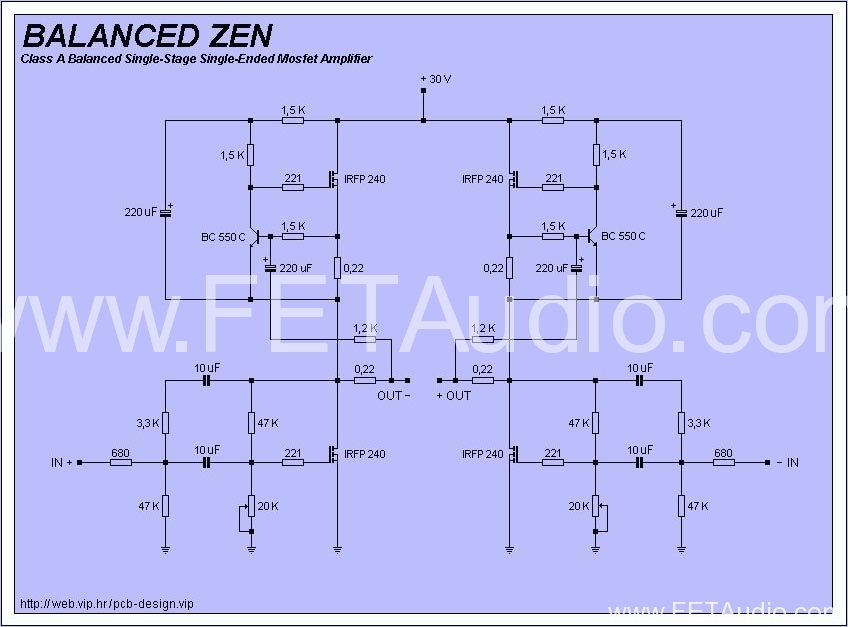 Balanced Zen « FET Audio | Hi-End Audio Projects