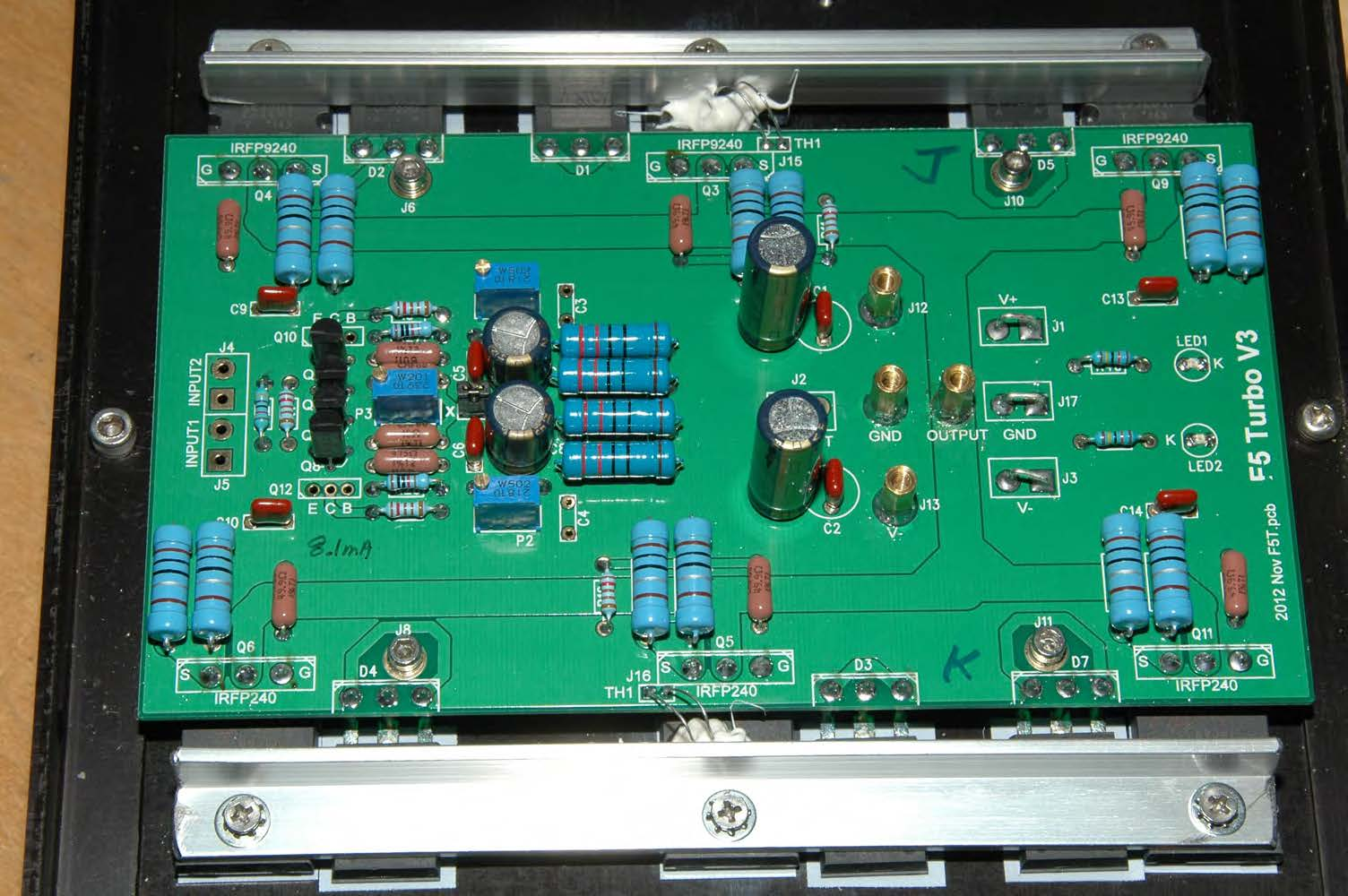 Pass Amplifiers Fet Audio Hi End Projects High Power Amplifier Circuit I